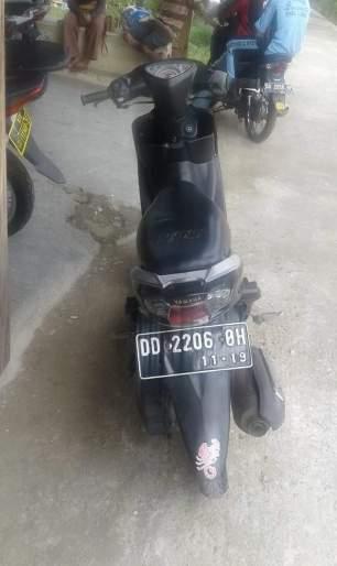 Inilah motor yg dicuri dan ditemukan kembali