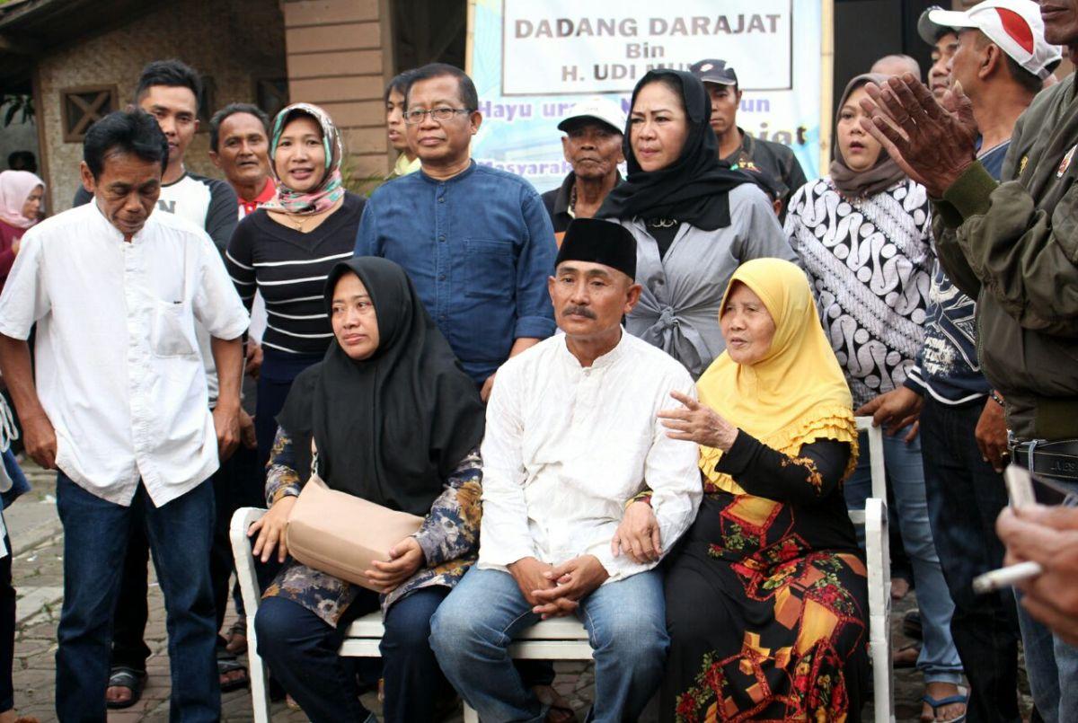 Dadang Drajat terpilih jadi calon Kades Majasetra Majalaya Kab.Bandung