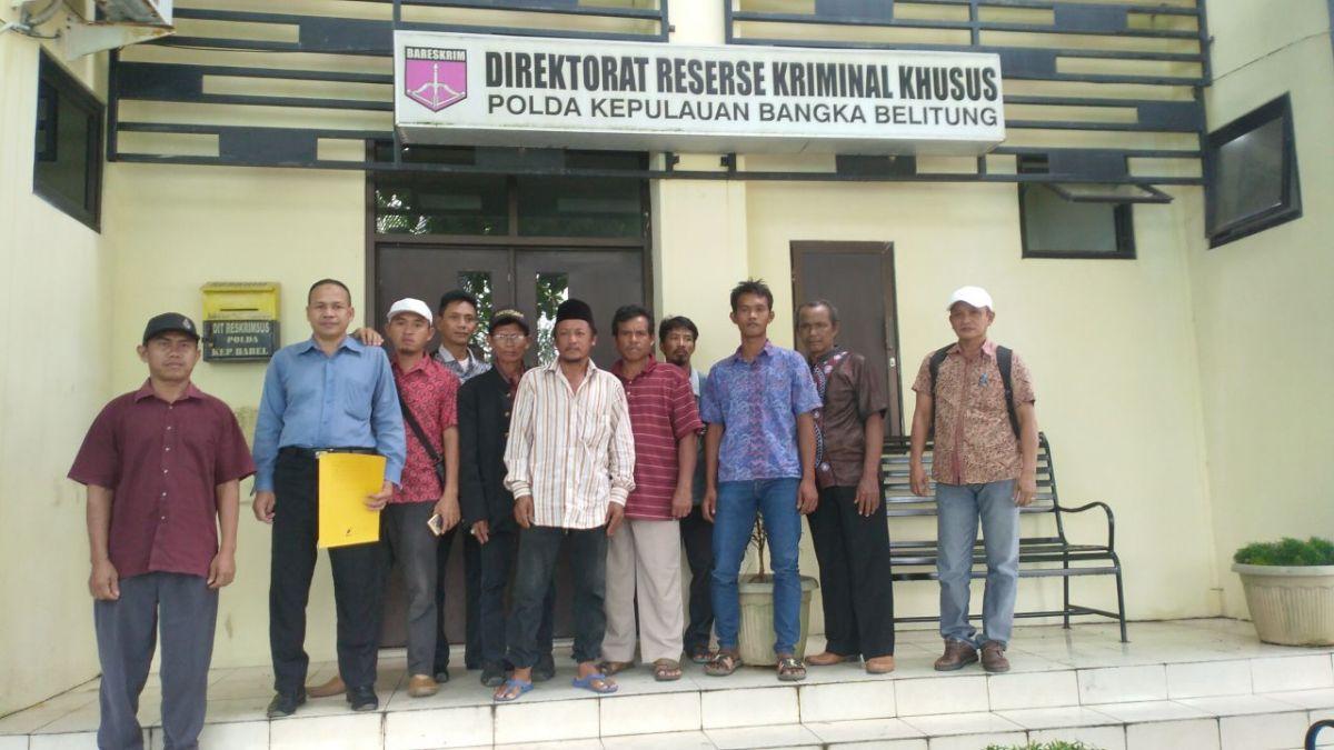 Beberapa LSM laporkan dugaan penyelewengan dana di desa Simpang Rimba